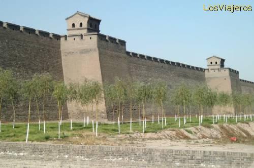 Pingyao, walled city - China La ciudad amurallada de Pingyao - China