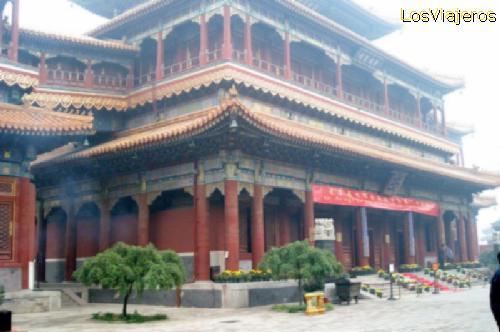 Templo de los Lamas -Beijing- China Yonghe Lamasery or Harmony and Peace Palace Lamasery - Beijing - China