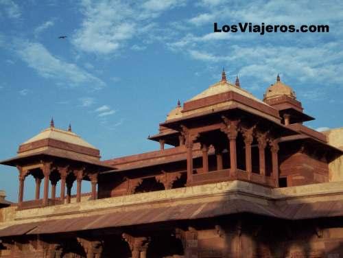 La ciudad fantasma de Fatepur Sikri - India Fatepur Sikri - India