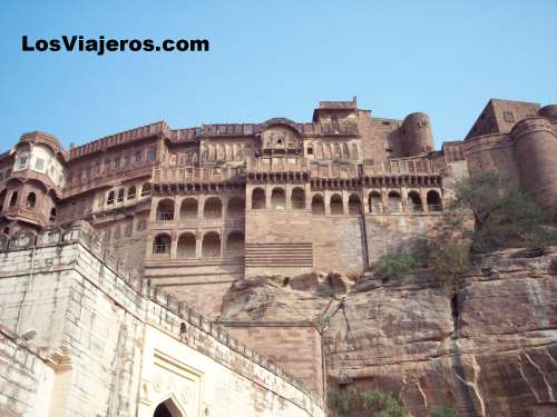 Fuerte Mehrangargh - Jodhpur - Rajastan - India Mehrangargh Fort - Jodhpur - Rajasthan - India