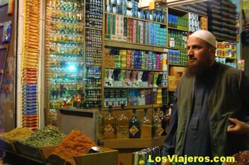 Tiendas de especias y perfumes -Amman- Jordania Spices & Perfumes shops -Amman- Jordan