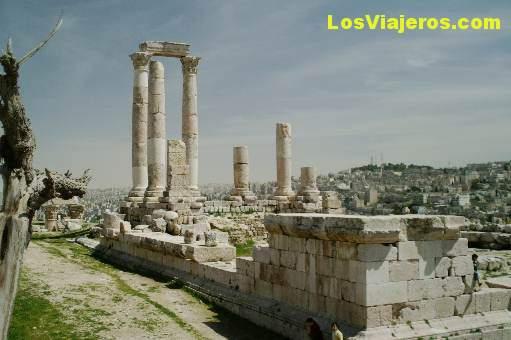 La ciudadela romana -Amman- Jordania The Roman Citadel - Amman - Jordan