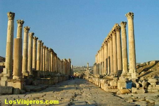 Jerash- Jordania Jerash- Jordan