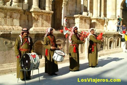 Teatro Romano de Jerash- Jordania Roman Theater of Jerash- Jordan