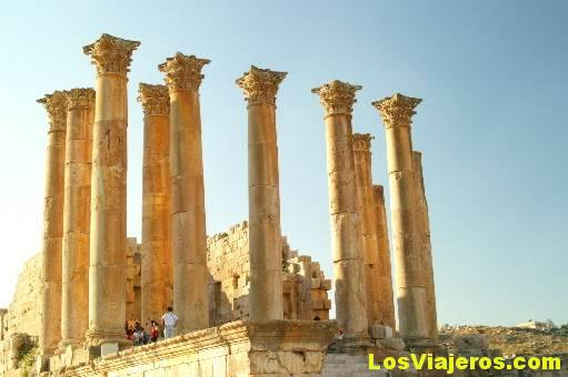 Santuario de Artemisa -Jerash- Jordania Sanctuary of Artemis -Jerash- Jordan