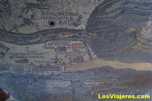 El famoso Mapa de Madaba- Jordania The famous Madaba's Map- Jordan