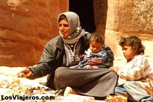 Bedouin woman -Petra- Jordan Mujer beduina -Petra- Jordania