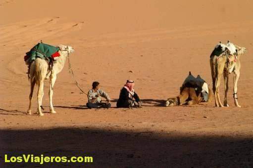 Beduinos -Wadi Rum- Jordania The Bedouins -Wadi Ram- Jordan