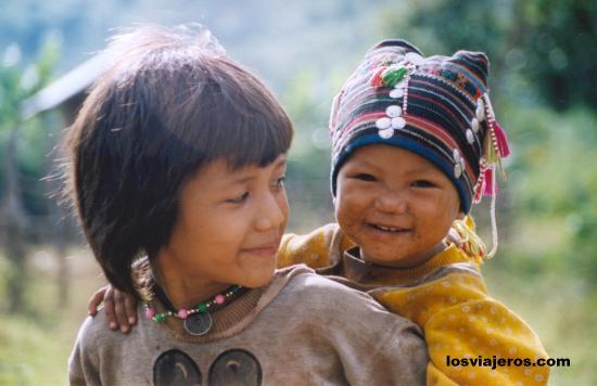 Smile of Laos Sonrisa de Laos