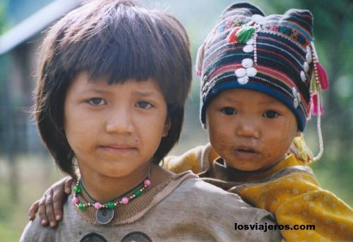 Akha Tribe - Laos Akha Tribe - Laos
