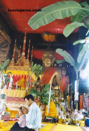 Wat Wisunalat - Luang Prabang - Laos