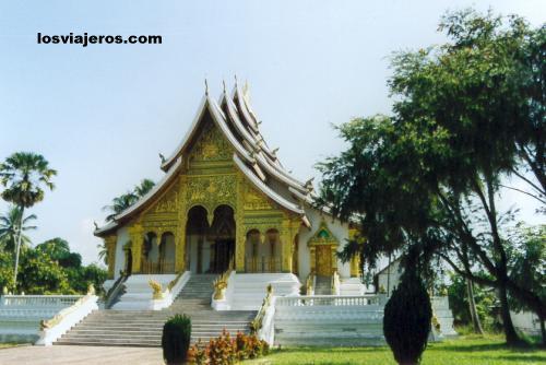 Royal Palace Wat - Luang Prabang - Laos Royal Palace Wat - Luang Prabang - Laos