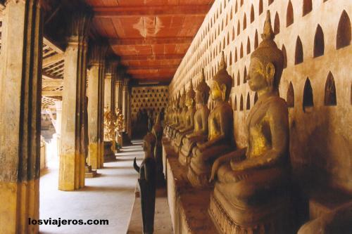 Wat Si Saek - Vientiane - Laos Wat Si Saek - Vientiane - Laos