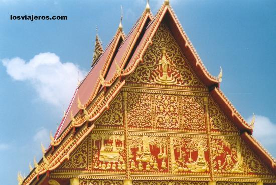Vientiane's temples - Laos Vientiane's temples - Laos