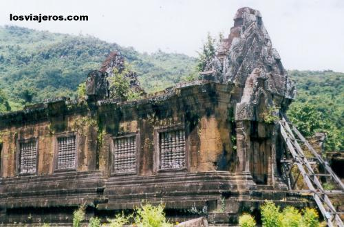 Wat Phu Temple - style khmer (Tipo Angkor) - Laos Templo de Wat Phu - estilo khmer (Tipo Angkor) - Laos