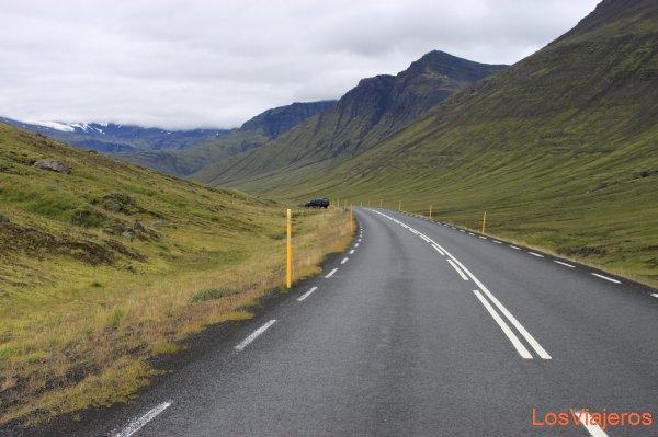Carretera principal - Islandia Main Road - Iceland
