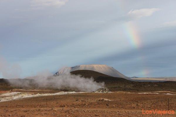 Myvatn: Zona sulfurosa - Islandia Myvatn: Sulfurous area - Iceland