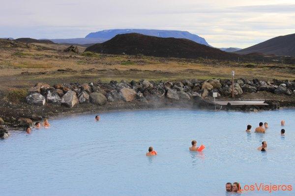 Zona termal - Myvatn - Islandia Steam area - Myvatn - Iceland