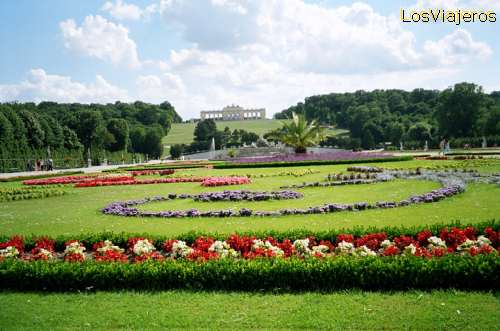 Imperial Palace of Schonbrunn, Vienna - Austria Palacio Imperial de Schonbrunn, Viena - Austria