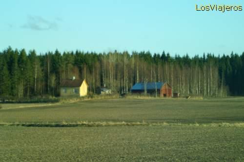 Landscapes of SouthWest of Finland Paisajes del Sudoeste Finlandia