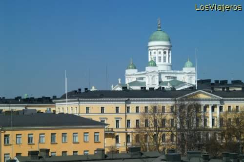 Vista general de Helsinki- Finlandia General view of Helsinki- Finland
