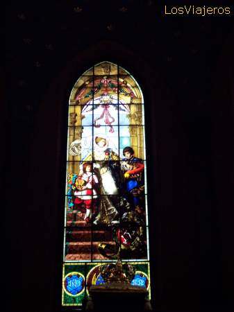 Window of the Cathedral of Turku- Finland Vidriera de la Catedral de Turku- Finlandia