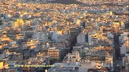 Atenas: Vista general sobre la ciudad - Grecia