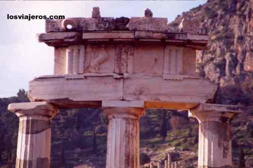Templo de Delfos - Grecia