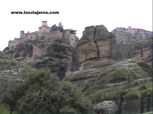 Monasterios de Varlaan & Megalos Meteora - Grecia