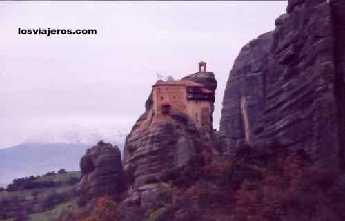 Agios Nikolaos Anapafsas - Meteora - Greece Agios Nikolaos Anapafsas - Meteora - Grecia