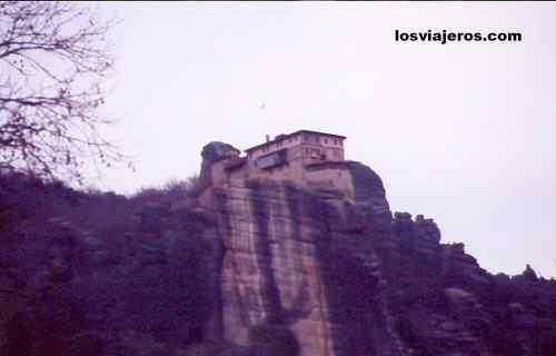 Roussanou Monastery - Meteora - Greece Monasterio de Roussanou - Meteora - Grecia