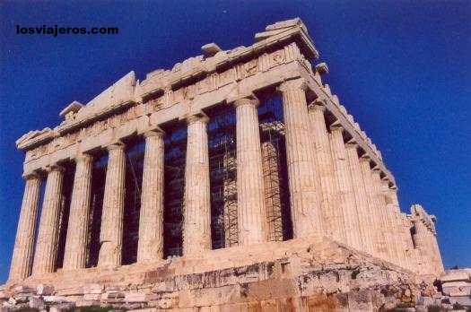 Partenon Temple- Acropolis of Athens- Greece El Partenon - Acropolis de Atenas - Grecia