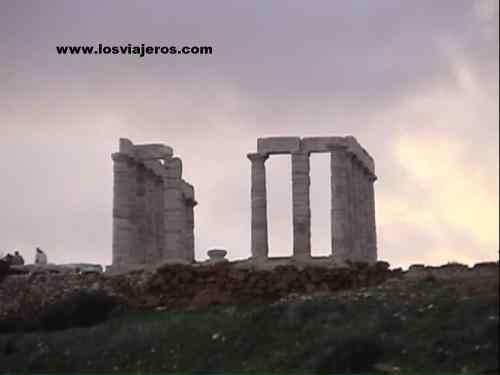 Templo de Poseidon - cabo Sounion - Grecia
