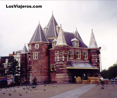 De Waag o el Peso - Amsterdam - Holanda Deen Waag - Niew Markt - Amsterdam - Holland - Netherlands