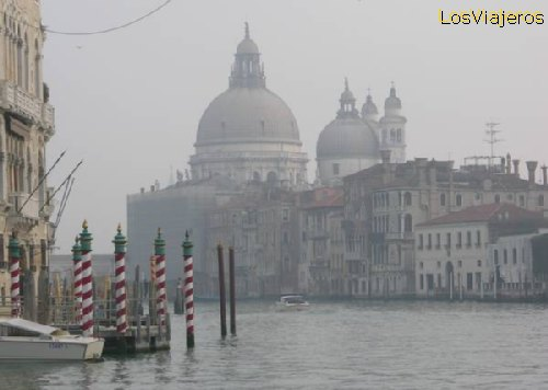 Grand Canal -Channels of Venice- Italy Gran Canal -Venecia - Italia