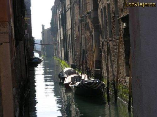Channels of Venice -Venezia- Italy Canales de Venecia - Italia
