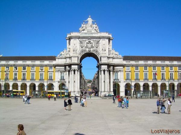 Plaza del Comercio-Lisboa - Portugal Commerce Square-Lisbon - Portugal