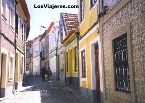 Fishers Disctrit - Aveiro - Portugal Calles de un barrio de pescadores - Aveiro - Portugal
