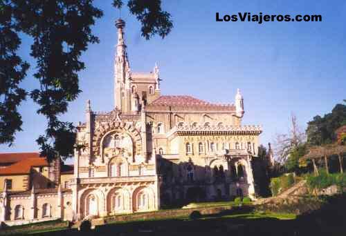 Castillo-palacio de Busaco (Buçaco) - Portugal