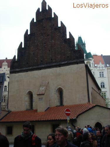 Old-New Synagogue - Prague - Czech Republic Sinagoga Vieja-Nueva - Praga - Checa Rep.