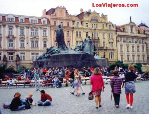 Plaza Staromestske - Praga - República Checa - Checa Rep. Staromestske Namesty - Prague - Czech Republic