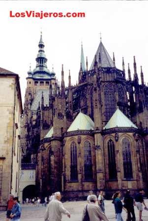 Prague's Cathedral - Czech Rep. - Czech Republic Catedral de San Vito - Praga - Rep. Checa - Checa Rep.