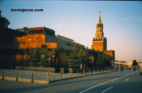 Mausoleo de Lenin en la Plaza Roja de Moscú. - Rusia