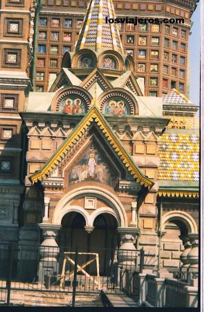 Iglesia de la resureccion de Cristo en St Petersburgo - Russia Iglesia de la resureccion de Cristo en St Petersburgo - Rusia