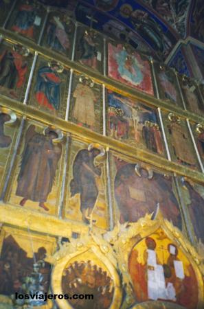 Rusian Ortodox Icons - Suzdal - Russia Iconos religiosos rusos - Suzdal - Rusia.