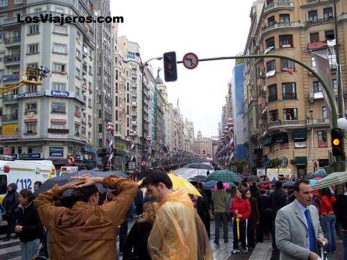 Desfile Gran Via - Madrid - Espa�a