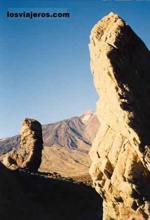 Vista del Teide - Tenerife - Islas Canarias - España View of the Vulcano of Teide - Tenerife - Canary Island - Spain