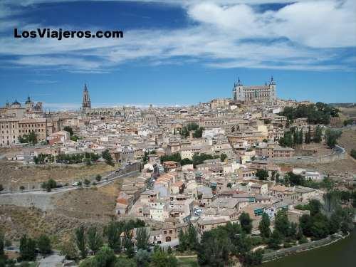 Alcazar y catedral de Toledo - España Alcazar & Cathedral of Toledo - Spain