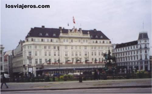 Copenhagen - Denmark El elegante hotel Anglaterre - Copenhague -Dinamarca