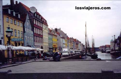 Calle Nyhavn - Copenhague -Dinamarca